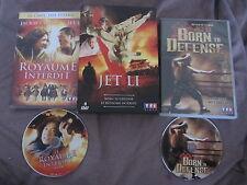 Born to defense + Le royaume interdit avec Jet Li, coffret 2DVD, Kung-Fu