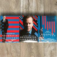Designated Survivor Complete Season Series 1 2 3 DVD US Seller Fast Shipping