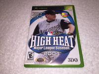High Heat Major League Baseball 2004 (Microsoft Xbox, 2003) Complete Excellent