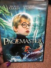 Pagemaster Dvd Fantasy Movie