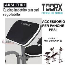 Toorx - APPOGGIO SCOT Cuscino ARM CURL per PANCA PESI Bicipiti - WBX-60 WBX-90