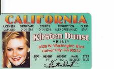 Kirsten Dunst Spider-man Mary Jane Watson Inverview with Vampire Drivers License