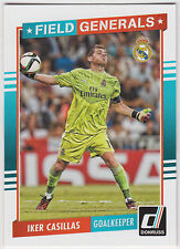 IKER CASILLAS 2015 Donruss Soccer Field Generals #6 Real Madrid