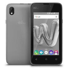Teléfonos móviles libres giratorios ZTE Open color principal plata