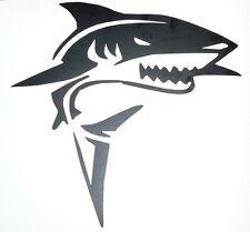 adesivo SQUALO nero black SHARK mare sea marino adesivo decal sticker auto moto