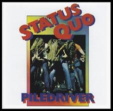 STATUS QUO - PILEDRIVER D/Rem CD w/BONUS Trk 70's *NEW*