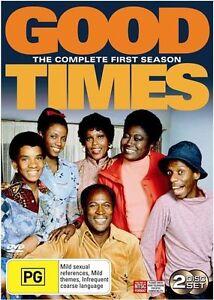 Good Times: Season 1 (DVD, 2 Discs)  Region 4  - Very Good Condition
