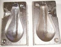 12 oz BOAT WEIGHT MOULD,QUICK DROP, WEIGHT MOULDS,LEAD MOULDS