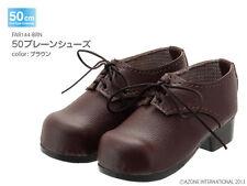 Azone 50cm Plain Shoes Brown Yamato VMF50 Obitsu 1/4 BJD MDD MSD LUTS DOT