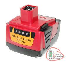 Outil Batterie pour Hilti type 3000/14,4 volts/sf 144-a/compatible b144/b14