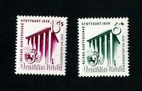 Germany Stamps # B138-9 XF OG NH Set of 2 Scott Value $18.00