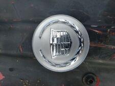Cadillac Steering Wheel Emblem - Silver caddie