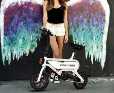 P5 36V Battery Foldable Electric Bike250W LED Headlight Double Use Black 19MPH