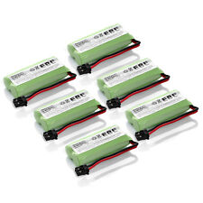 6x Home Phone Battery for Uniden BT-1021 1008 AT&T BBTG0645001 Radio Shack 23596