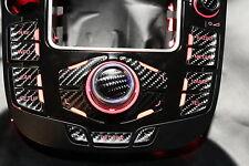 MMI Aufkleber Carbon --PFEIL-- für Audi A4/S4/ RS4 8K A5/S5 8T Q5 mmi 2G und 3G