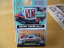 M2 Machines, 1:64,1970 Dodge Challenger R/T, NEU, USA
