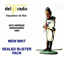 Painted Lead German 1751-1815 1:32 Del Prado Toy Soldiers