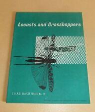 Csiro Leaflet No. 19 Locusts and Grasshoppers Australian Farming