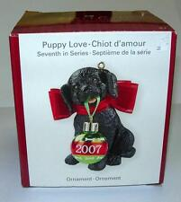 AMERICAN GREETINGS HEIRLOOM COLLECTION CHRISTMAS ORNAMENT (PUPPY LOVE)