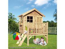 """Kinderhaus """"Funny L"""" Kinderspielhaus Gartenhaus aus Holz Spielhaus Holzhaus KDI"""