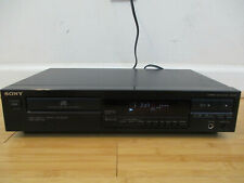 Sony Cdp-297 Single Disc Cd Player Tested