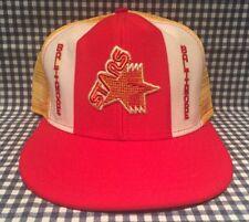 Vintage Baltimore Stars Usfl 1980's Mesh Football Trucker Hat Lucky Stripes Ajd