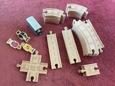 Wooden Thomas The Tank Engine Track,  Toby & Figures