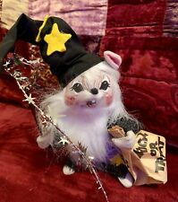 Annalee Dolls Vintage Halloween Mouse Star Wizard Wand Trick Or Treat 1993