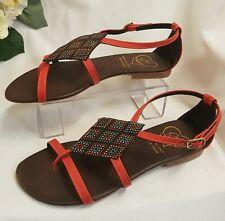 Calzado de Mujer Sandalias De Niñas Rojo Gr 36 hecho ITALY FLIPFLOP Verano