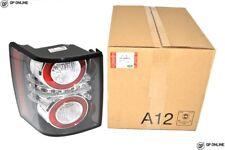 RANGE Rover L322 2010-2012 LED LUCE POSTERIORE ORIGINALE SINISTRO Inserto Nero LR028515
