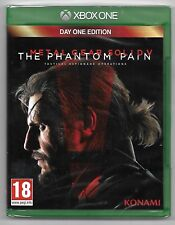 METAL GEAR SOLID V THE PHANTOM PAIN / Jeu XBOX ONE / NEUF SOUS CELLO