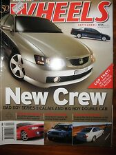Wheels Mag 2003 VY SS Crewman VY Commodore Series BMW M3 HSV HRT 427C Supercar
