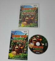 Donkey Kong Country Returns - Nintendo Wii Game - Complete & Tested
