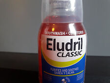 Eludril Classic Mouthwash 500ml antibacterial anaesthetic analgesic paradontal