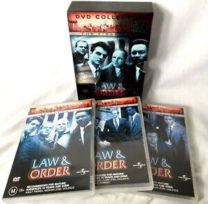 Law And Order - The First Year (DVD, 2003, 6-Disc Set) Crime Drama