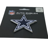 New NFL Dallas Cowboys Auto Car Truck Heavy Duty Metal Color Emblem