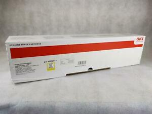 42918913 Oki C9600 Toner Yellow Genuine Okidata