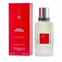 HABIT ROUGE BY GUERLAIN FOR MEN-EDT-SPRAY-1.6 OZ-50 ML-AUTHENTIC-MADE IN FRANCE