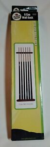 FAT CAT WALL RACK FOR 6 POOL CUES BILLIARDS NEW FREE SHIPPING