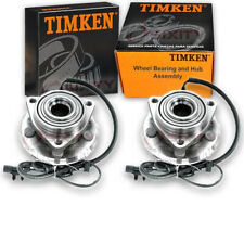 Timken Front Wheel Bearing & Hub Assembly for 2008-2012 Jeep Liberty Pair nf
