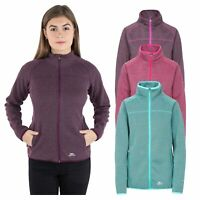 Trespass Tenbury Womens Insulating Fleece Jacket in Purple Green and Pink