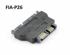 Slimline SATA Male to SATA Male Data and Power Adapter