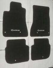 Fit 1998-2005 Lexus GS300 GS400 GS430 Black Floor Mats Carpet W/Emblem
