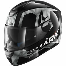 Full Face Hi-Vis/Reflective 4 Star Motorcycle Helmets