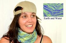Head Wear Neck Gator Scarf Green Womens Kids Microfiber Blue Seamless Microfiber