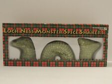 Vintage Loch Ness Monster Salt Pepper Spices Shaker Accoutrements 1993 New