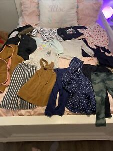 HUGE lot 4 T girls fall/ winter clothes! Detailed List In Description