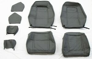 ASC McLaren Mustang 1987 87 88 89 1990  grey gray leather seat cover