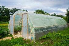 UV5 Gewächshausfolie Gartenfolie Tunnelfolie Tomatenhaus 200my 6m Breite