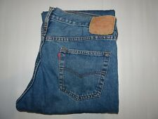 Vintage LEVIS 501 Mens Jeans 40 x 34 Blue Denim Made In USA Red Tab